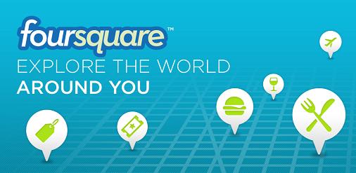 Foursquare chính là thứ mà bạn cần trong việc tiếp thị hình ảnh nhà hàng của bạn đến với khách hàng