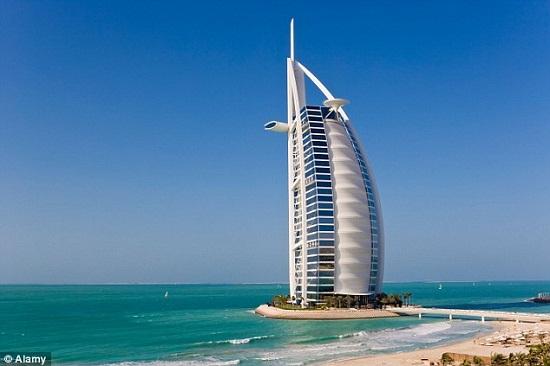 Khách sạn Burj Al Arab ở Dubai