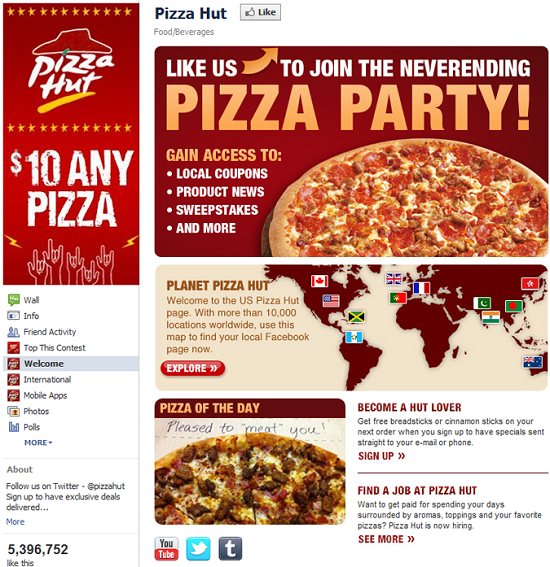 Domino vs Pizza Hut marketing 4
