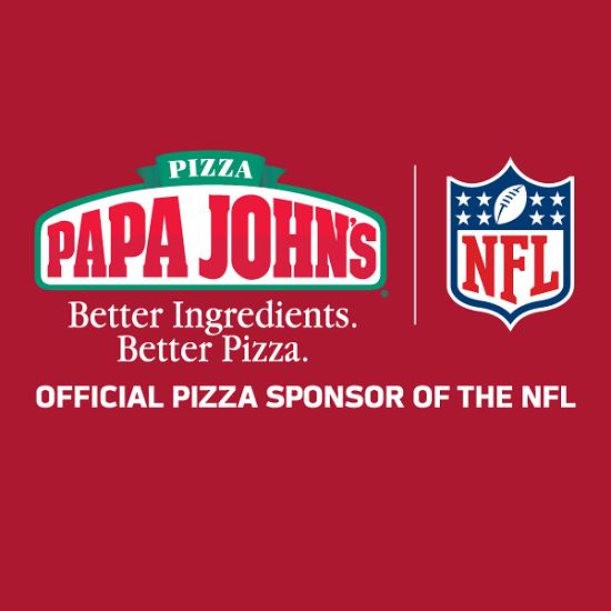 papa john's & NFL