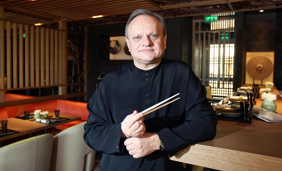 French chef Joel Robuchon, the world's m
