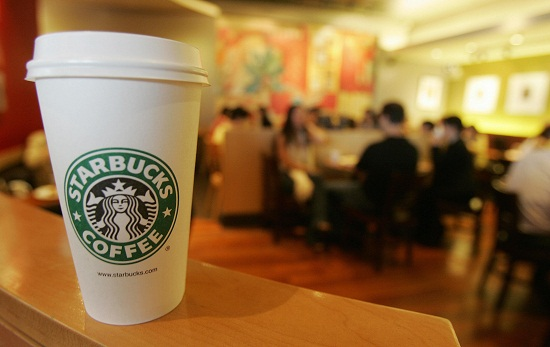 A Starbucks Coffee outlet in the Central