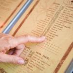 Thiết kế thực đơn nhà hàng, tưởng dễ mà khó?