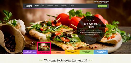 Xây dựng website nhà hàng