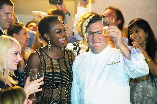Charlie Trotter and wife Rochelle | Ramzi Dreessen~Sun-Times